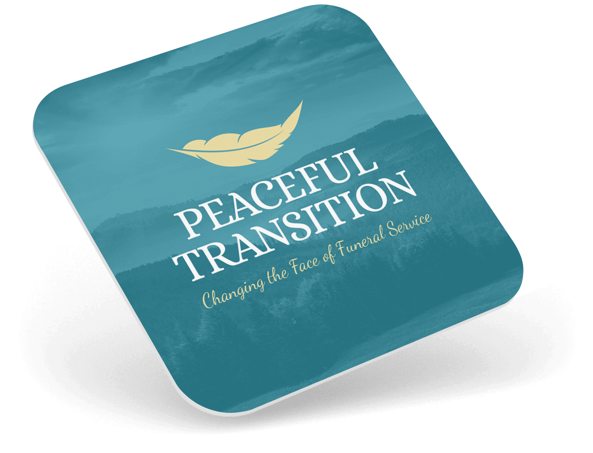 peaceful transition journey Card